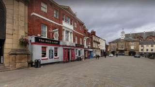 The Red Lion in Pontefract