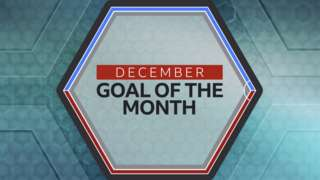 December's goal of the month