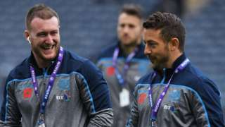 Stuart Hogg and Greig Laidlaw are back for Scotland