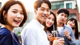 Южнокорейская молодежь