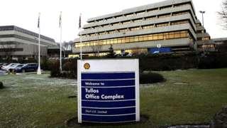 Shell's regional headquarters in Tullos, Aberdeen