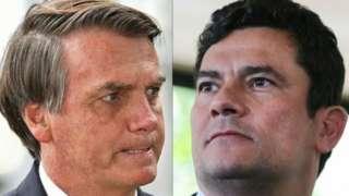 Bolsonaro e Moro vivem intensa troca de acusações desde que o ministro deixou o governo, no fim de abril