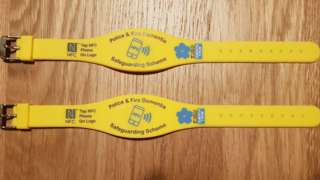 The yellow wristbands
