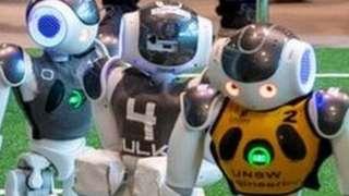 A RoboCup Standard Platform game