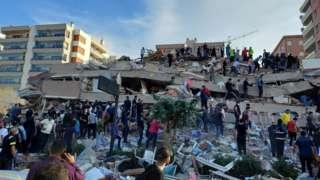 ترکی، یونان میں زلزلہ