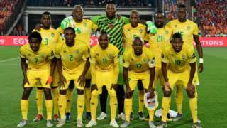 Zimbabwe at the Africa Cup of Nations