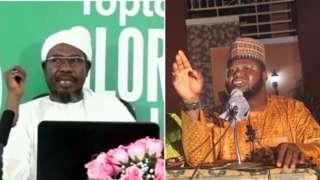 Sheik Nuru Khalid and Sheik Musa Yusuf