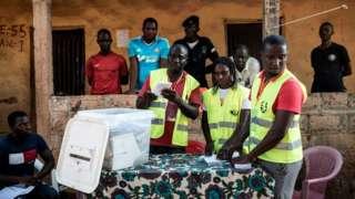 Dimanche jour de vote en Guinée Bissau