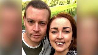 Rachel Godiff (right) with her fiance