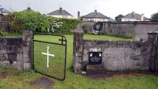 Site of former home in Tuam, County Galway