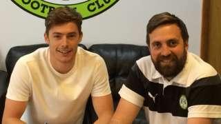 Luke James (left)