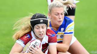 Wigan v Leeds in 2018 Women's Super League Grand Final