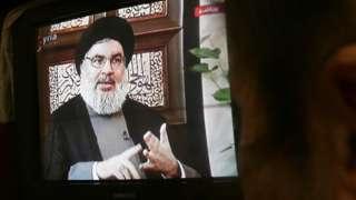 حسن نصرالله رهبر حزبالله لبنان