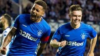 Rangers players