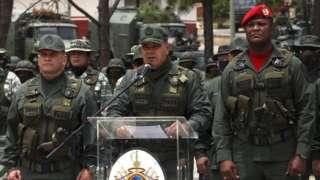 File photo of Venezuelan Defence Minister Gen Vladimir Padrino in Caracas (3 May 2020)