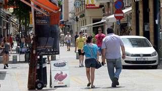 Nicosia street scene (file photo)