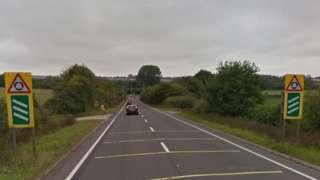 A134 near Sudbury