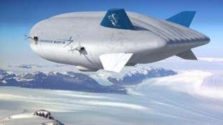 """صنعت شركة """"لوكهيد مارتن"""" للملاحة الجوية منطادها الخاص بها أيضا"""