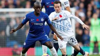 N'golo Kante and Bernard