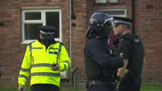 Police in drugs raid operation