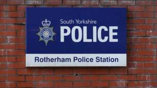 South Yorkshire Police sign
