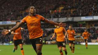 Ivan Cavaleiro found the net for Wolves for the fifth time in seven games