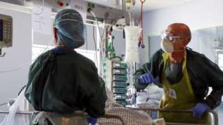 Intensive care in a UK hospital