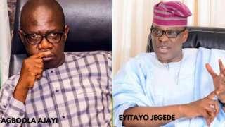 Agboola Ajayi ati Eyitayo Jegede