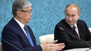 Қозоғистон ва Россия президентлари