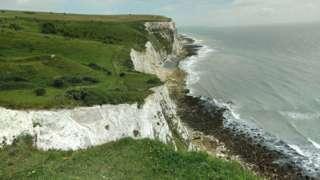 Cliffs at Langdon Bay
