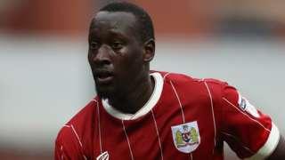 Famara Diedhiou in action for Bristol City.