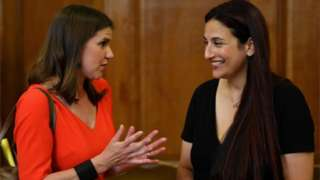 Jo Swinson and Luciana Berger