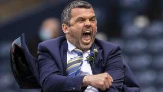 St Johnstone manager Callum Davidson