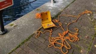 Salford Quays safety kit