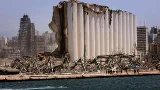베이루트 항구에서 발생한 대규모 폭발로 200명이 사망했다