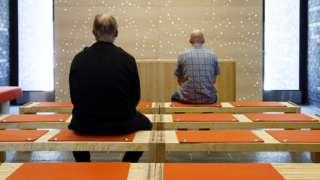 Prayer room in Halden prison