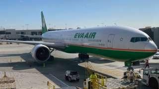 Eva Air aricraft