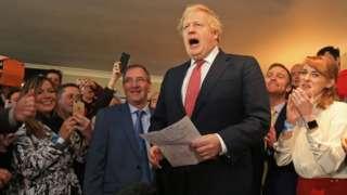 Boris Johnson in Sedgefield