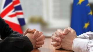 EU and UK meeting