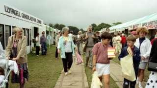 Y maes, Eisteddfod Casnewydd 1988
