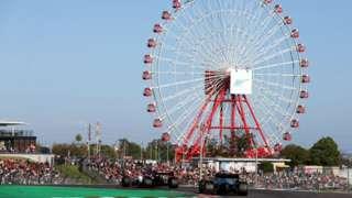 Suzuka race track