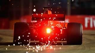 Ferrari's Sebastain Vettel