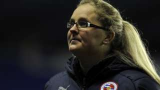 Reading FC Women manager Kelly Chambers