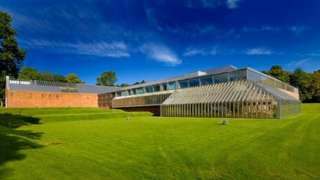 The Burrell Collection building in Pollok Park