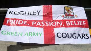 Keighley Cougars flag