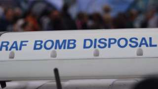 RAF Bomb Disposal sign