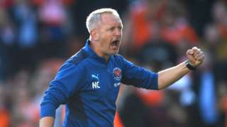 Blackpool manager Neil Critchley