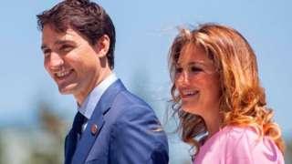 Justin Trudeau n'umugore we Sophie
