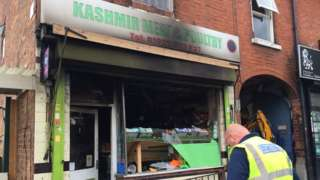 Wednesbury Road Walsall halal butcher attack