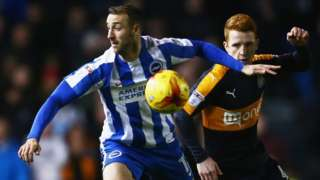 Glenn Murray in action against Newcastle United
